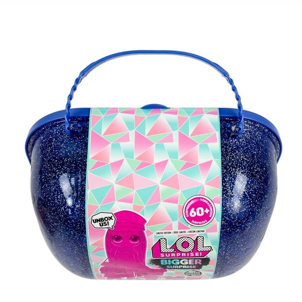 Кукла LOL Bigger Surprise Winter Disco (фиолетовый чемоданчик с OMG куклами) - 3
